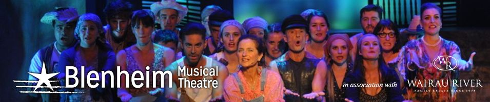 Blenheim Musical Theatre logo